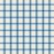 At The Farm- Plaid Paper- Blue & Off-White