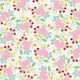 At The Farm- Floral Paper- Multicolor
