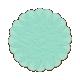 Tissue Paper Flower 2- Teal