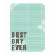 Best Day Ever Journaling Card