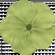 Lilies- Fabric Flower- Green