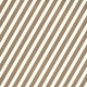 Stripes 95 - Brown & White