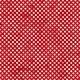 Polka Dots 23 - Red & White