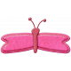 Felt Butterfly 002- Mexico