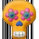 Felt Skull 01- Mexico