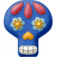 Felt Skull 05- Mexico