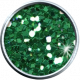 Green Glitter Brad 05b- Mexico