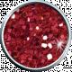 Red Glitter Brad 05b- Mexico
