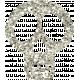 White Glitter Skull- Mexico