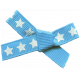 Bow 173 Blue Stars- Ribbons #014