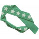 Bow 177 Green Stars- Ribbons #014