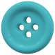 Blue Button- Tea Cup