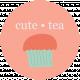 Word Art 6- Tea Cup