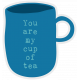 Word Art 7- Tea Cup