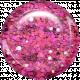 Boo! Glitter Brad- Pink