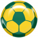 World Cup Bard Soccer Ball- Yellow