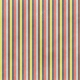 Stripes 107 Paper- Blue & Coral