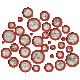 Glitter Circle Scatter