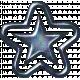 1000 Star- Blue