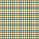 Plaid Paper 10- Teal & Mustard