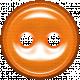 Bedouin Button- orange