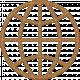 Chipboard Globe Shape