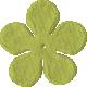 Bedouin Flower- Green