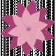 Cruising Elements- Pink Flower