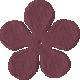 Bedouin Flower- Purple 2