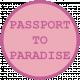 Cruising Elements- Passport To Paradise Label