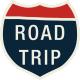 Road Trip- Interstate Road Trip Sticker