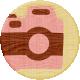 Road Trip- Camera Wood Coin