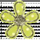 Bedouin Glitter Flower 04