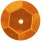 Bedouin Sequin- Orange
