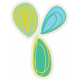 Garden Party Mini Kit- Doodle Flower Sticker