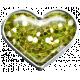 Garden Party Heart Brad- Green