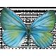 Garden Party Butterfly- Blue
