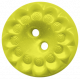 Garden Party Button- Greenish Yellow