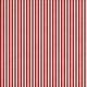 Stripes 54- Red & White