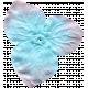 Garden Party Silk Flower- Blue