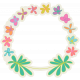 Garden Party Flower Set- Colorful
