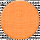 Garden Party Mini Kit- Orange Wood Circle