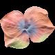 Garden Party Silk Flower- Coral 4 Petals