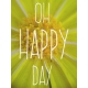 Garden Party Journal Cards- Oh Happy Day Journal Card