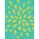 Garden Party Journal Cards- Yellow Flower Journal Card