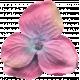 Garden Party Silk Flower- Dark Pink
