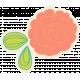 Garden Party Flower- Coral Set 025 BB
