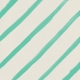 Garden Party Painted Stripes Paper- Teal
