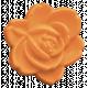 Garden Party Button- Rose