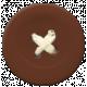 Brown Button 4